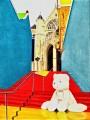 Stevenskerk II, oil on canvas, 60x80cm, SOLD