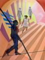 En Passant, oil on canvas, 60x80 cm