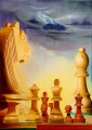 Chess Jazz, oil canvas, 50x70 cm, Art Preferred Prize Los Angeles; Dutch Master Painters Diary 2014